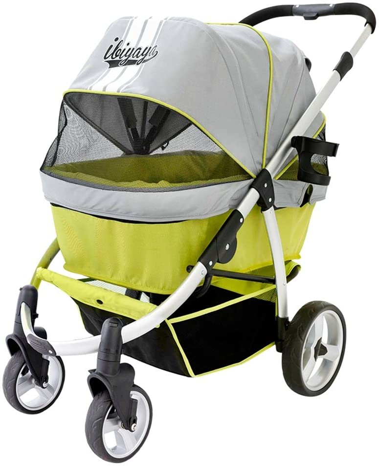 ibiyaya Double Dog Strollers for Large Dogs up to 77 Ibs