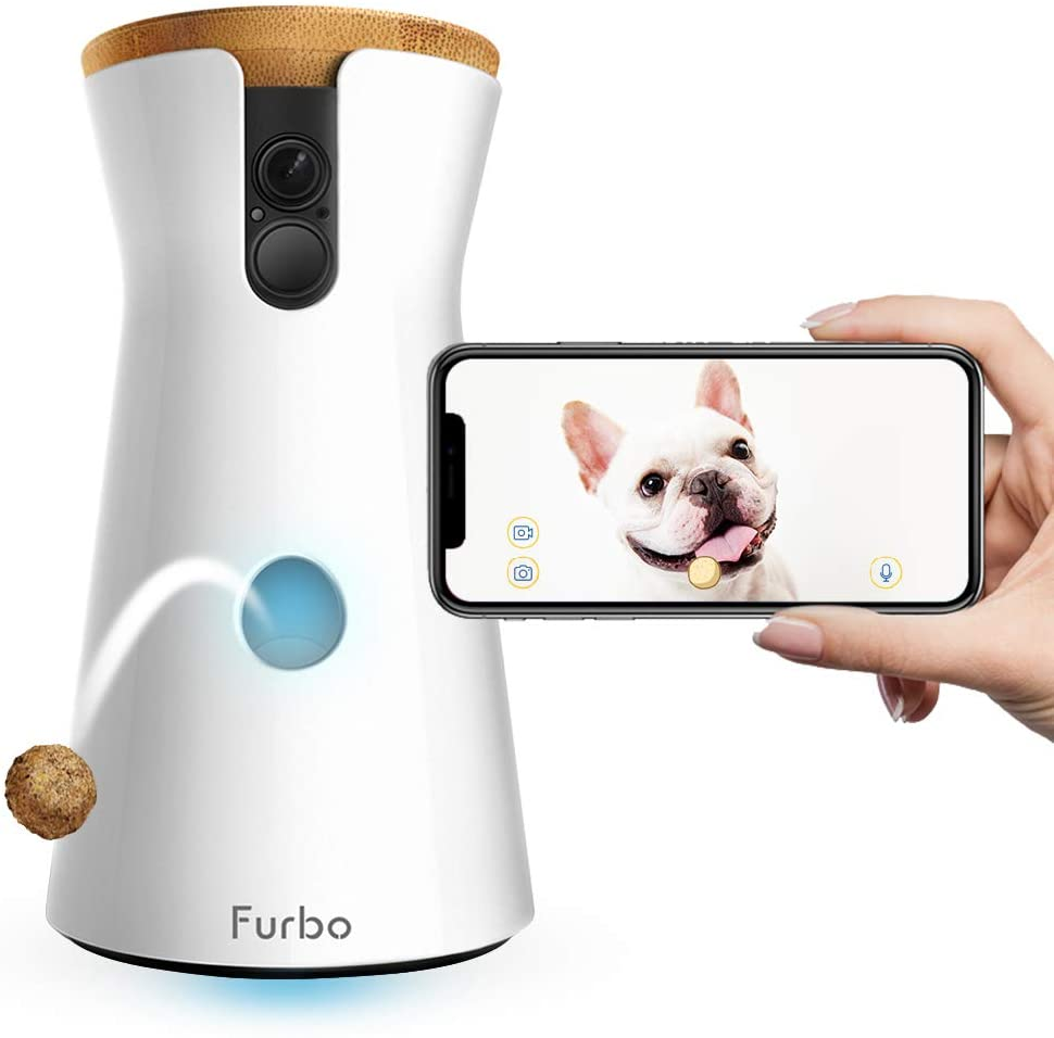 Furbo Dog Camera: Treat Tossing, Full HD Wi-Fi Pet Camera