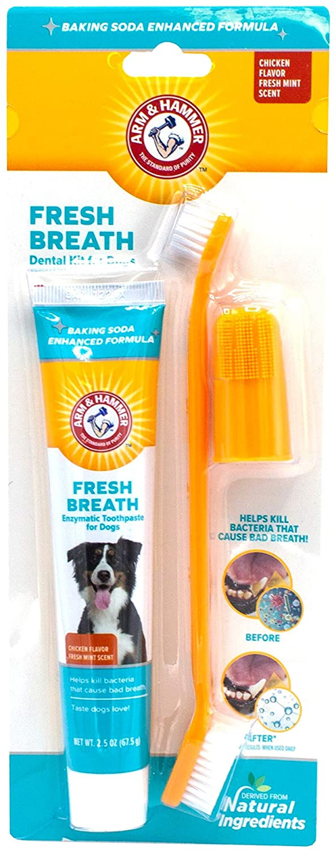 Arm & Hammer Dog Dental Care Fresh Breath Kit for Dogs