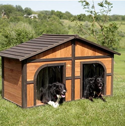 Merry Products Extra Large Solid Wood Dog House