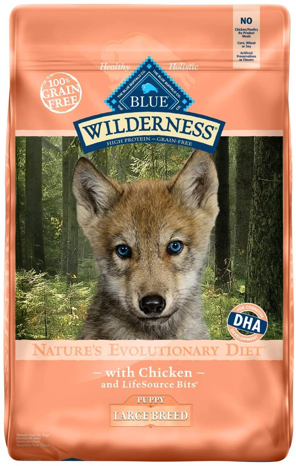 Blue Buffalo Wilderness High Protein Grain-Free Dry Dog Food