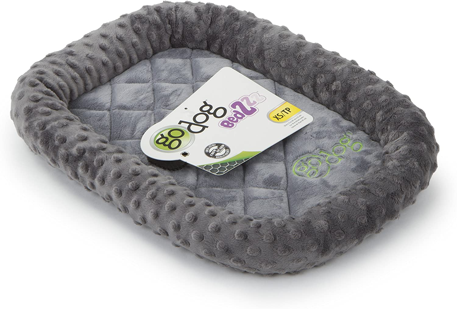 GoDogBedZzz Bubble Bolstered Dog Crate Mat