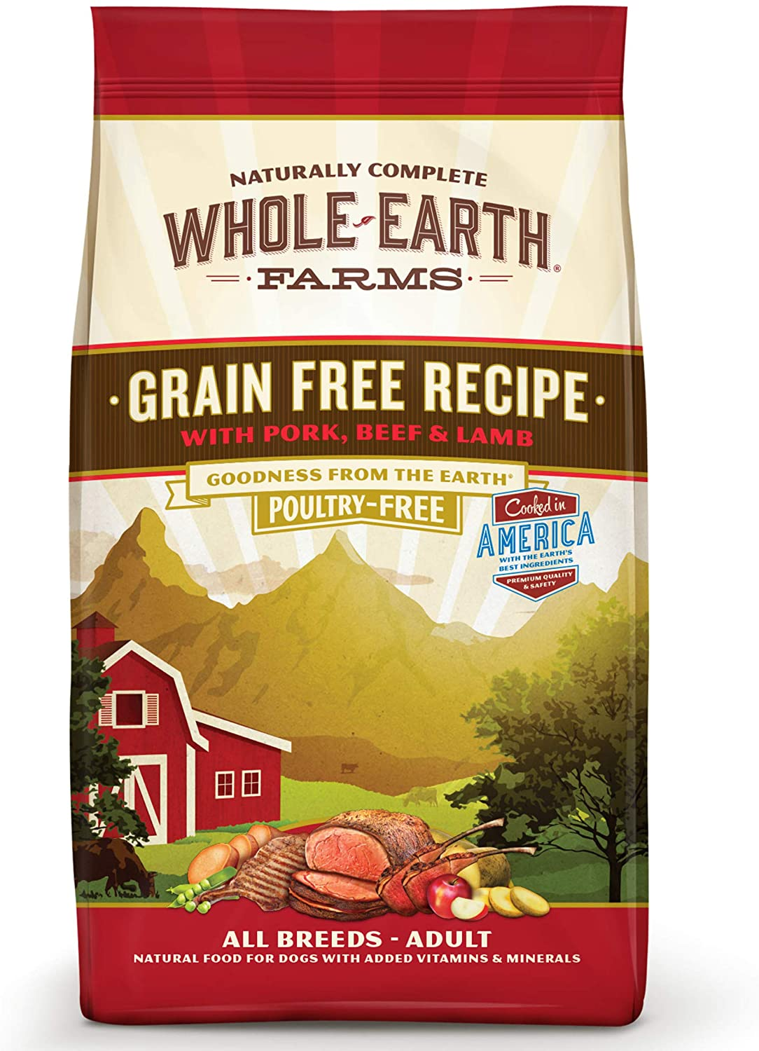 Whole Earth Farms Grain-Free, Natural Dry Dog Food