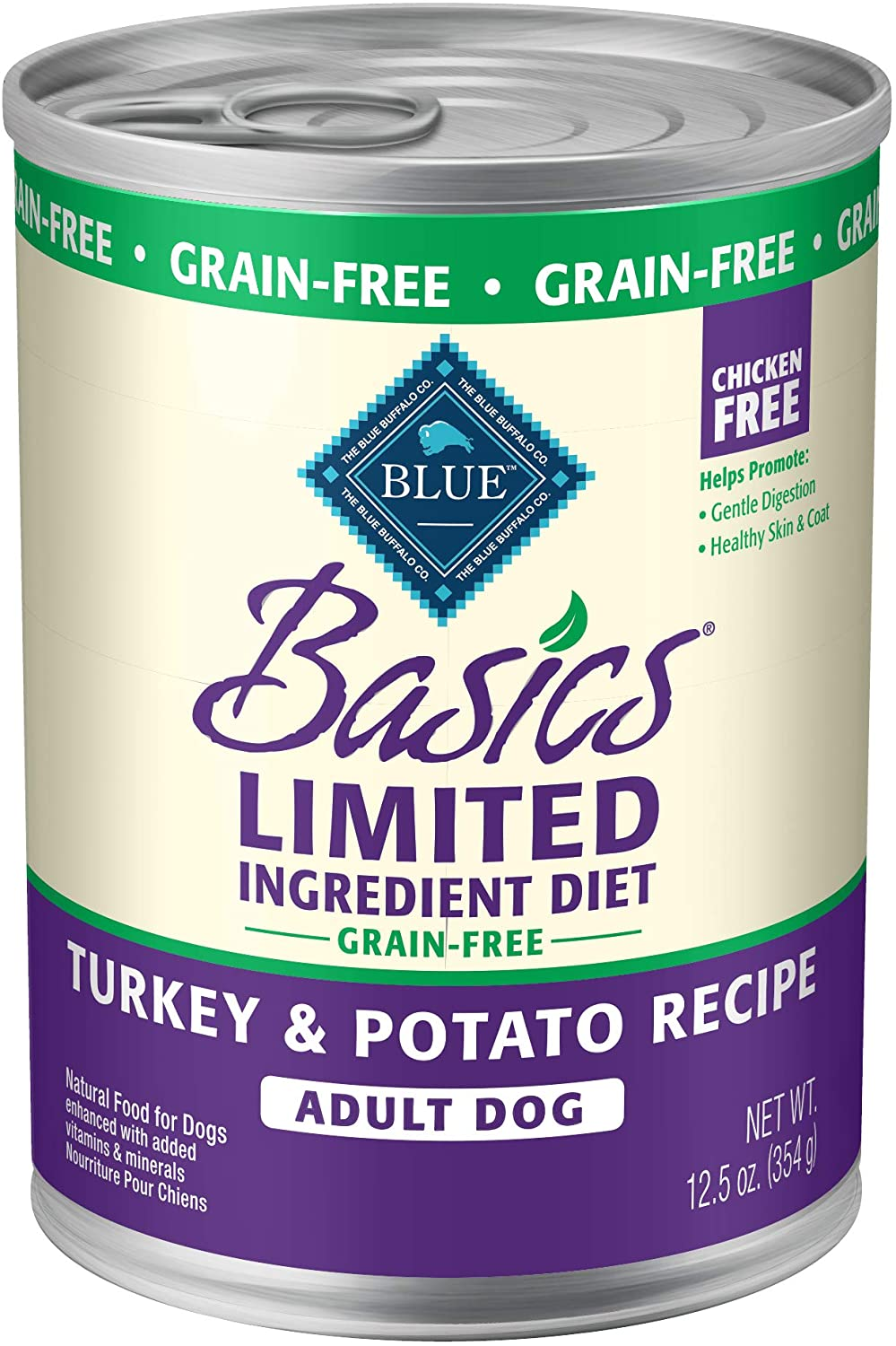 Blue Buffalo Basics Limited Ingredient Grain-Free Turkey & Potato Recipe