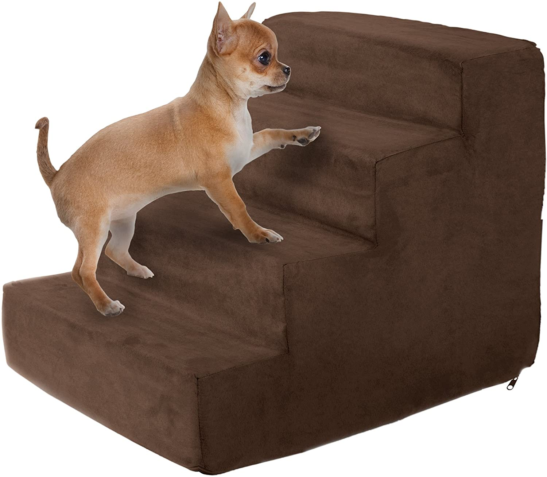 Petmaker High-Density Foam 3 Tier Pet Steps