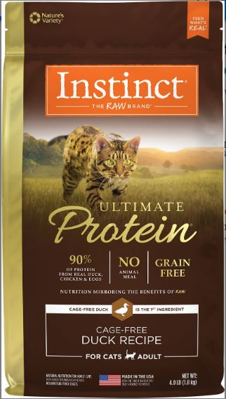 Instinct by Nature's Variety Ultimate Protein Grain-Free Cage-Free Duck Recipe