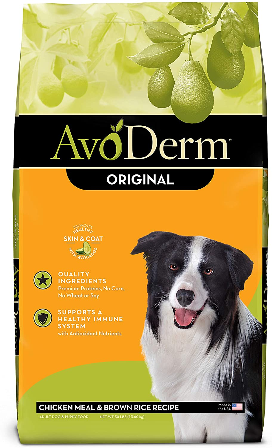 AvoDerm Original Chicken Meal & Brown Rice Recipe Adult Dry Dog Food