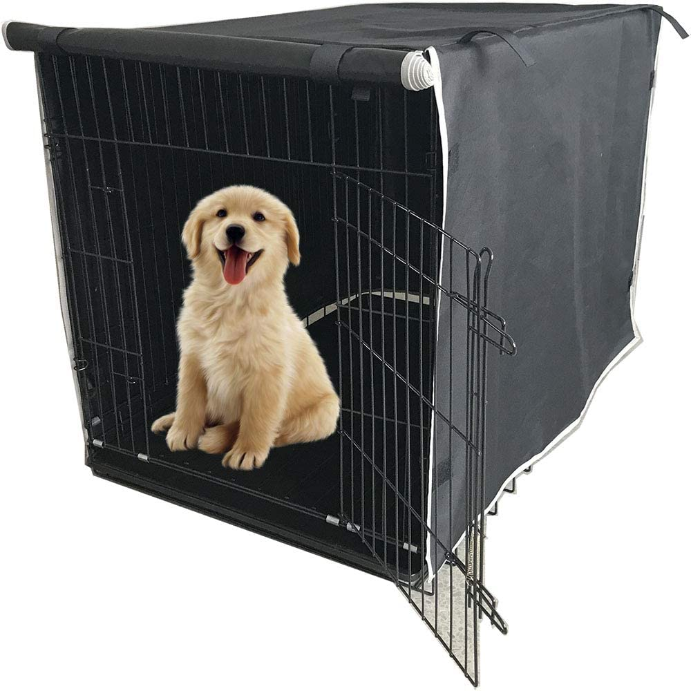 TC-Tour Pets Dog Wire Kennel Crate Cage House Cover