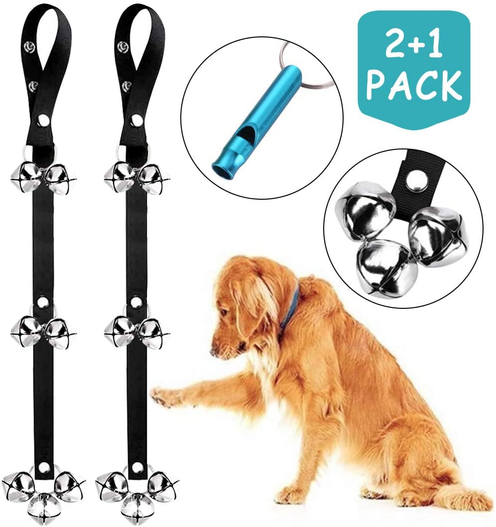 Manfiter Dog Doorbells for Puppy Training