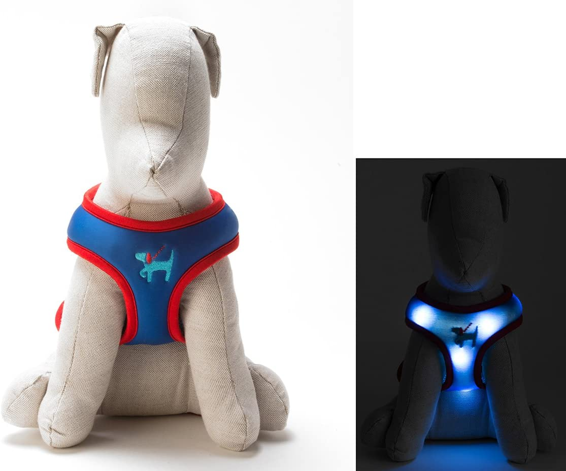 Dog-E-Glow Light Up LED Dog Comfort Harness