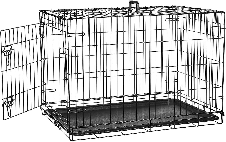 AmazonBasics Single-Door & Double-Door Pet Crate