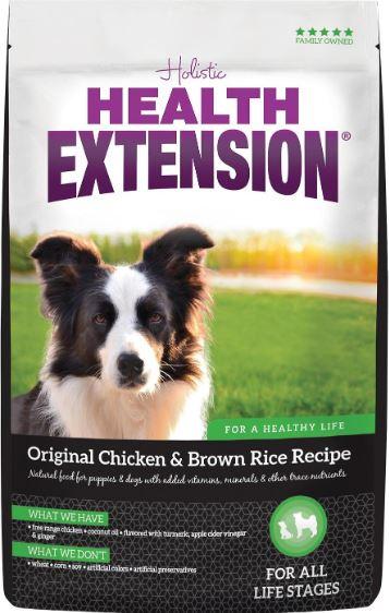 Health Extension Original Chicken & Brown Rice Recipe Dry Dog Food