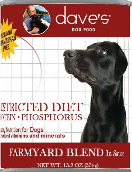 Dave's Pet Food Restricted Canned Dog Food