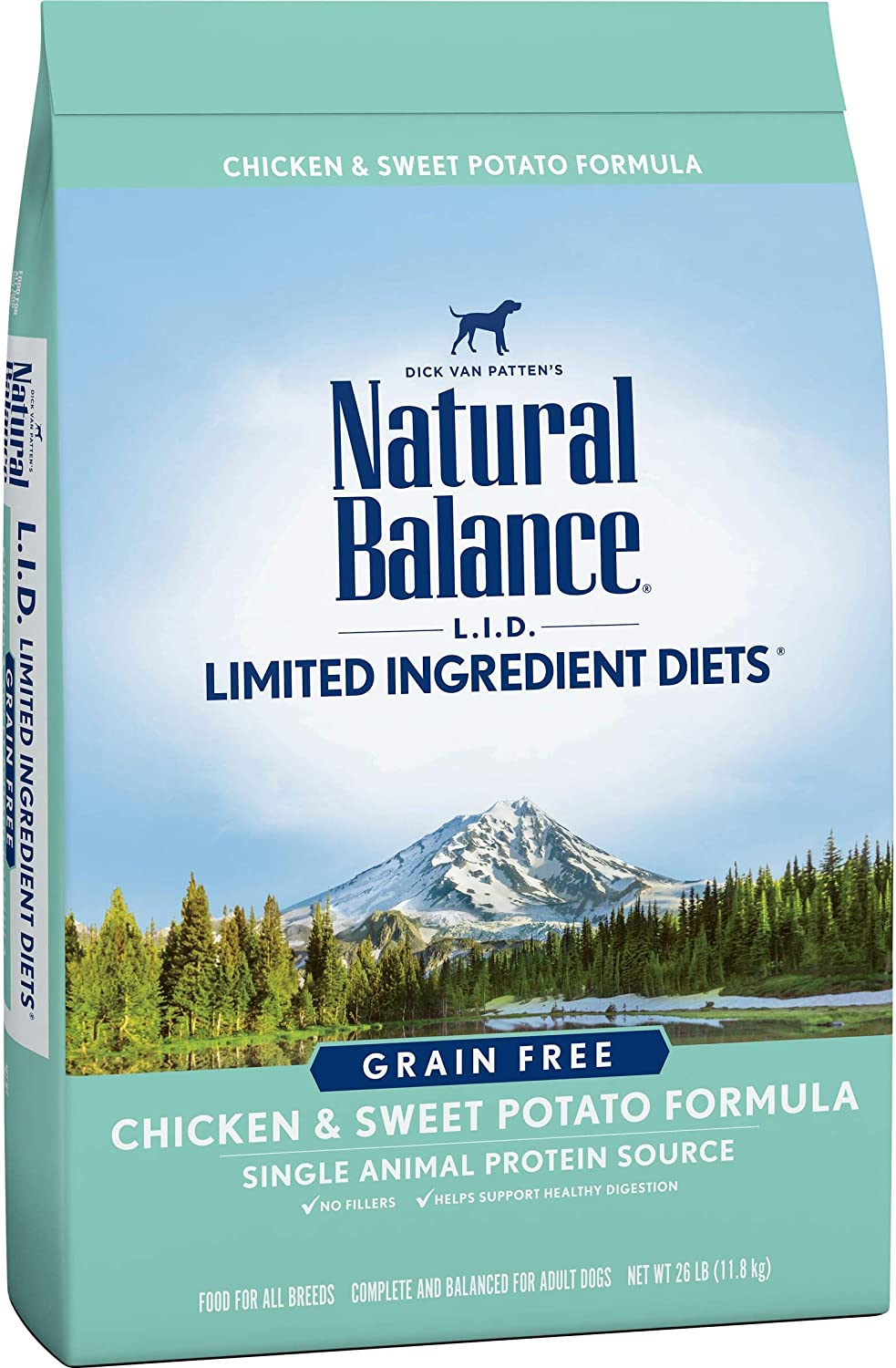 Natural Balance LID Limited Ingredient Diets Salmon & Sweet Potato Formula Grain-Free Dry Dog Food