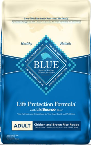 Blue Buffalo Life Protection Formula Adult Chicken & Brown Rice Recipe Dry Dog Food-2