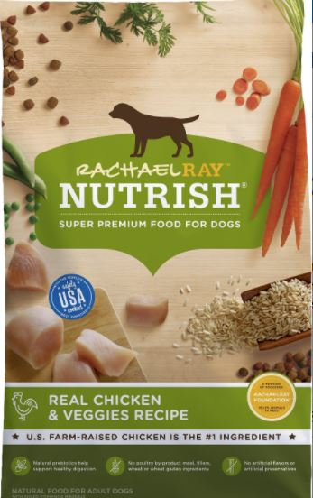 Rachael Ray Nutrish Natural Chicken & Veggies Recipe Dry Dog Food-1