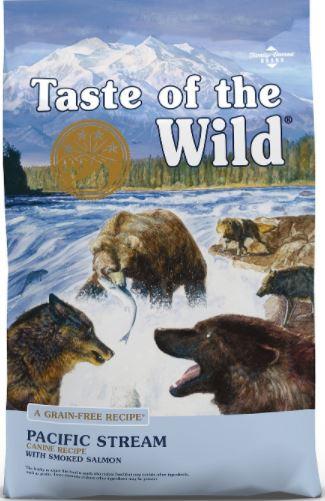 Taste of the Wild Pacific Stream Grain-Free Dry Dog Food-5