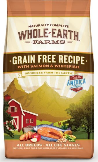 Whole Earth Farms Grain-Free Salmon & Whitefish Dry Dog Food-3